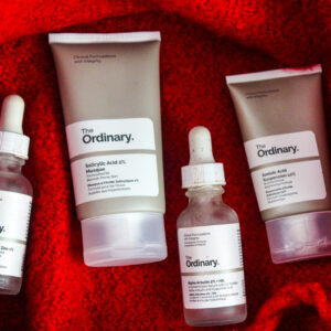 The Ordinary Skincare Regimen for Acne Scars